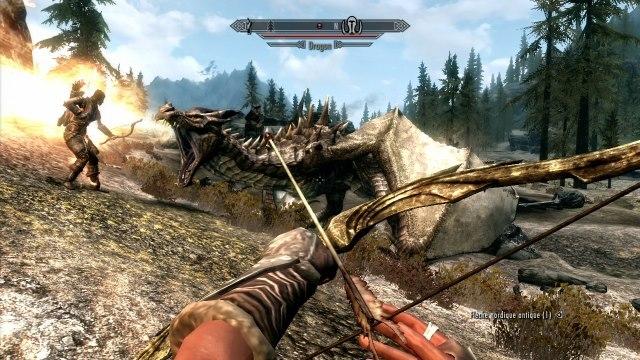 The Elder Scrolls V Skyrim - Drago
