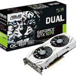 Asus GeForce GTX 1070 DUAL O8G