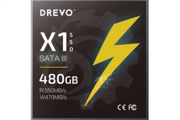Drevo X1 SSD 480GB SATA3