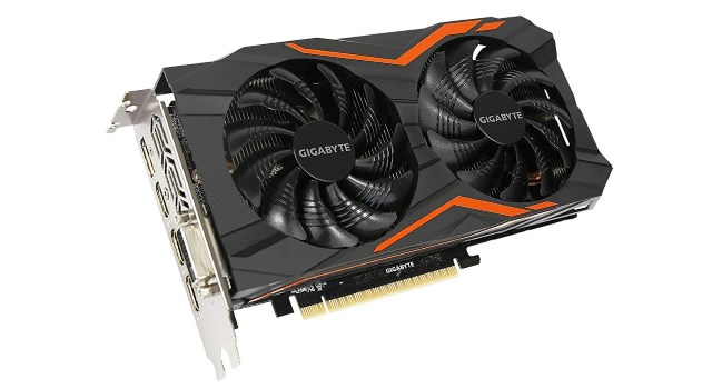 Gigabyte GeForce GTX 1050 Ti G1 Gaming 4G ventole