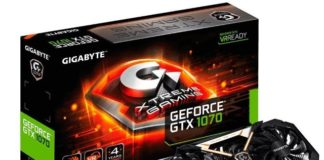Gigabyte GeForce GTX 1070 Xtreme Gaming 8GD