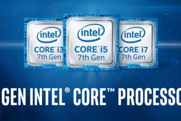 Kaby Lake processori di settima generazione