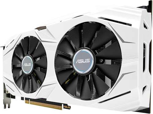 Ventole scheda video Asus GeForce GTX 1070 DUAL