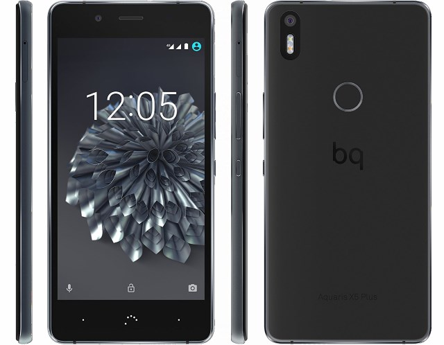 Clone iphone 6: BQ Aquaris X5 Plus