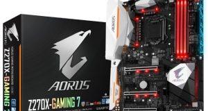 Gigabyte Aorus ga-z270 x Gaming 7