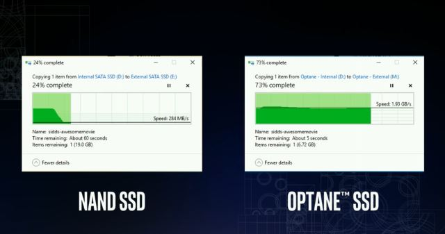 SSD 3D XPoint