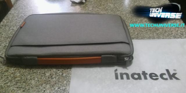 Maniglia e cerniera borsa notebook