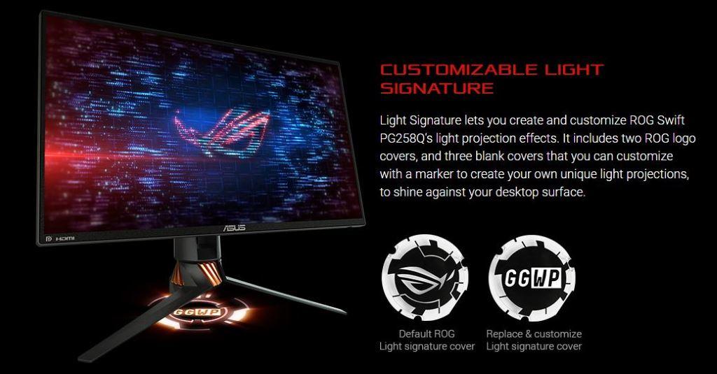 Illuminazione monitor