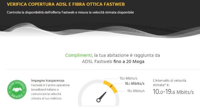 Fibra ottica Fastweb