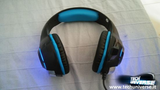 Illuminazione a LED cuffie gaming Beexcellent GM-1