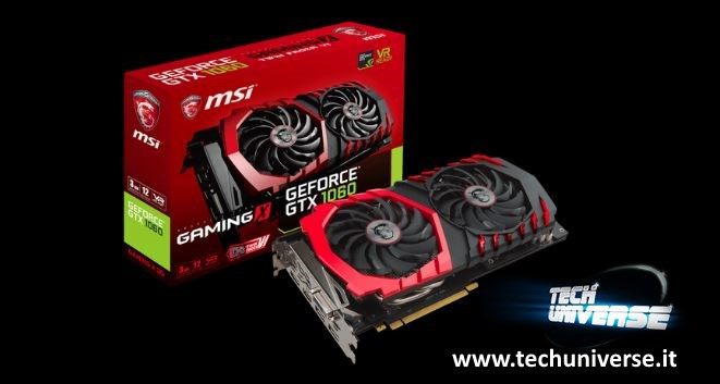 MSI GeForce GTX 1060 Gaming X 3G