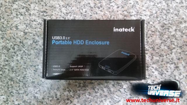 Scatola case esterno per SSD e HDD