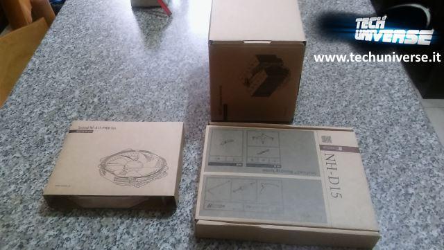 Tre scatole interne