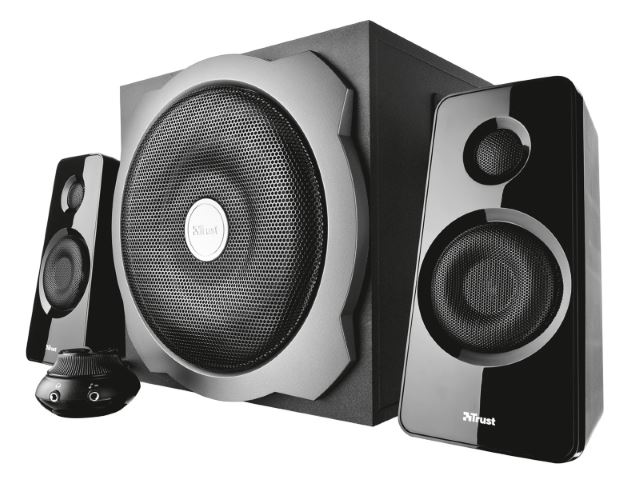 Altoparlanti PC subwoofer illuminazione a LED Bluetooth Trust Tytan