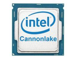 processori Intel Cannonlake
