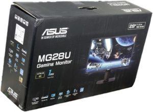 Asus MG28UQ scatola