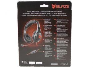 Creative sound blaster Blaze scatola
