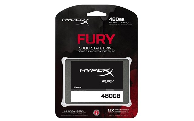 Fury 480GB SSD scatola