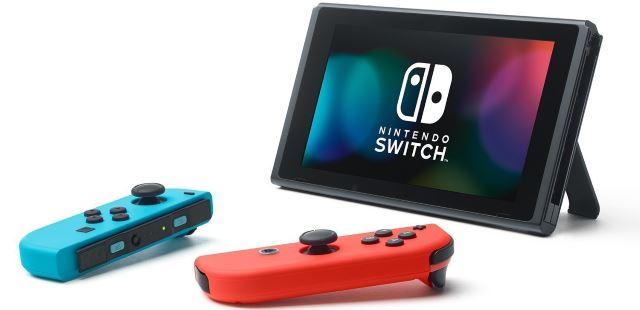 Nintendo Switch e controller joy-con