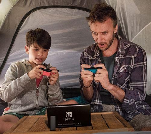 Nintendo su cavalletto