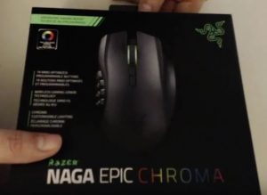 Scatola mouse gaming
