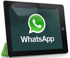 WhatsApp Web su tablet