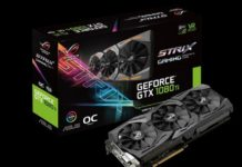 Asus ROG Strix GTX 1080 Ti O11G 11GB
