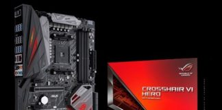 Asus X370 Crosshair VI Hero