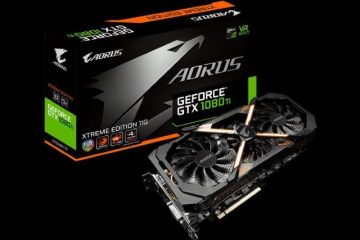 AORUS GeForce GTX 1080 Ti Xtreme Edition 11G