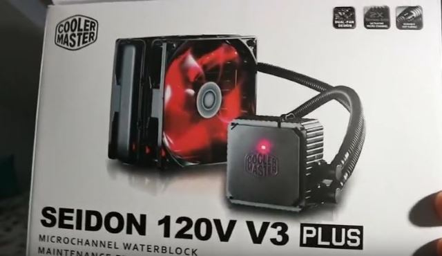 Unboxing Cooler Master Seidon