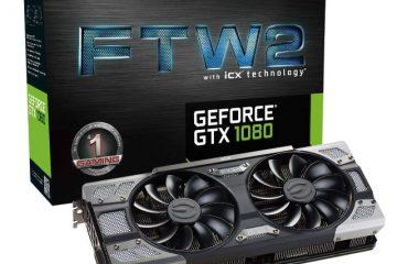 EVGA GeForce GTX 1080 FTW2