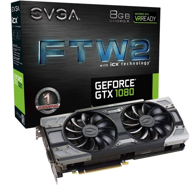 EVGA GeForce GTX 1080 FTW2
