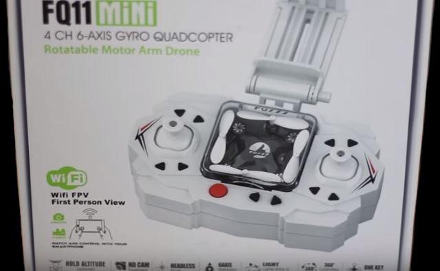 FQ11 scatola nano drone