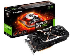 Scheda video Gigabyte GeForce GTX 1060 Xtreme Gaming 6G