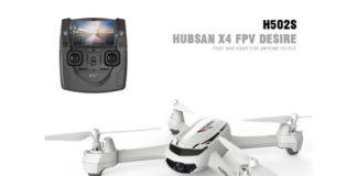 Hubsan H502S X4 Desire drone quadricottero