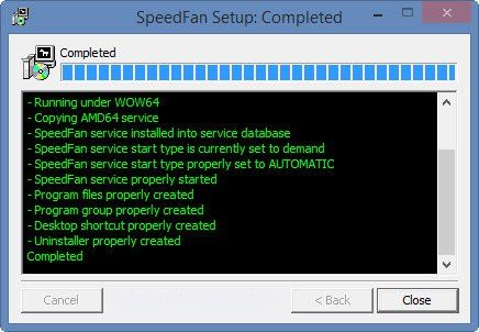 SpeedFan installazione