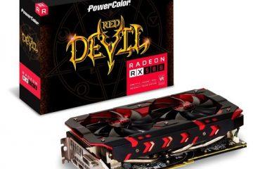 PowerColor Radeon RX 580 Red Devil Golden
