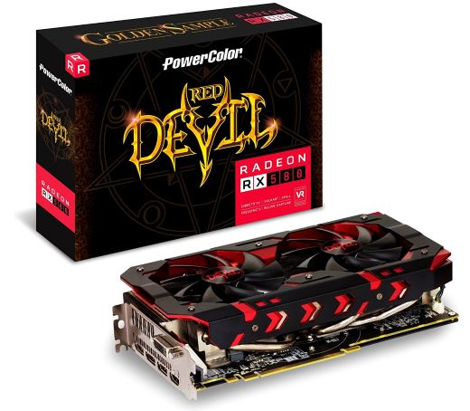 PowerColor Radeon RX 580 Red Devil Golden