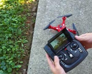 Drone e radiocomando