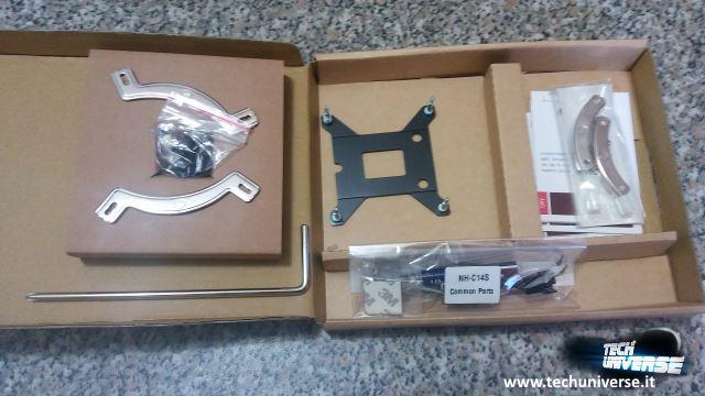 Accessori per il montaggio dissipatore e pasta termica
