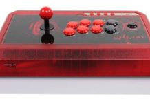 Fight Stick QanBa Q4 RAF Edizione Ice Red