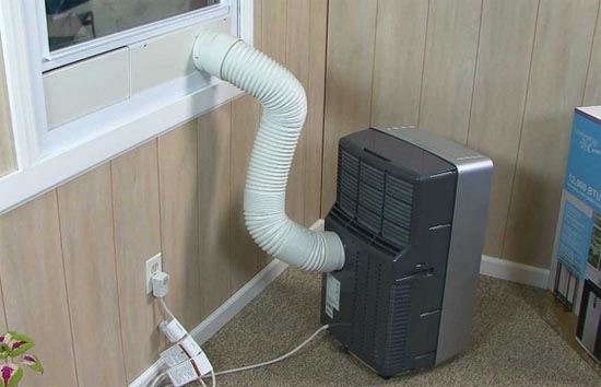 Guarnizione per finestra a ghigliottina per climatizzatore