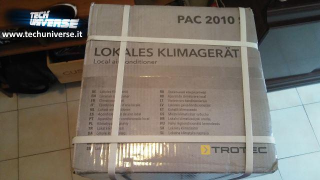 Informazioni sulla parte superiore della scatola del condizionatore