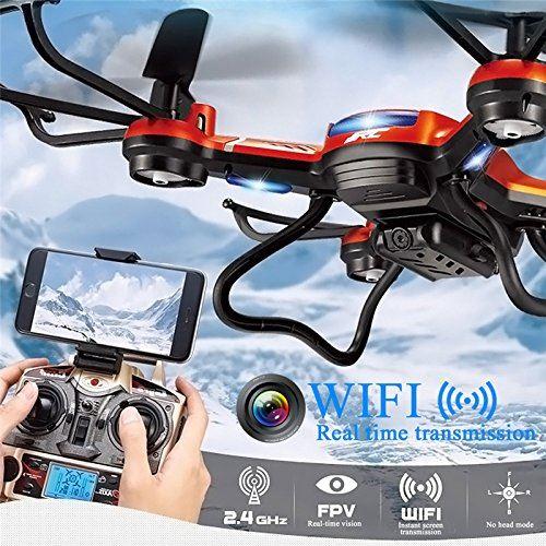 Kingtoys JJRC H12WH volo e trasmissione in tempo reale