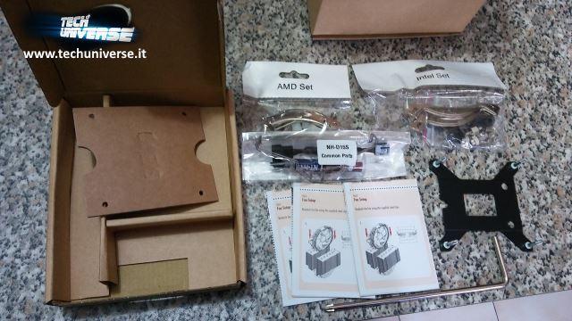 Kit di montaggio dissipatore Noctua