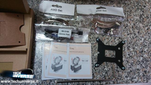 Kit di montaggio dissipatore per AMD e Intel