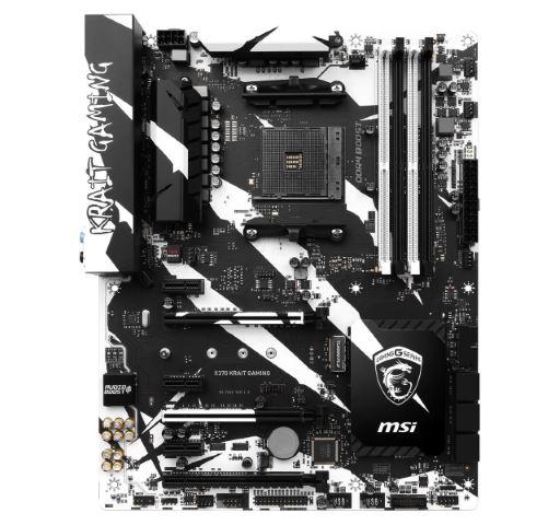 MSI X370 KRAIT Gaming estetica scheda madre per processori Ryzen di AMD