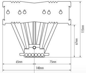 Noctua NH-C14S misure e dimensioni