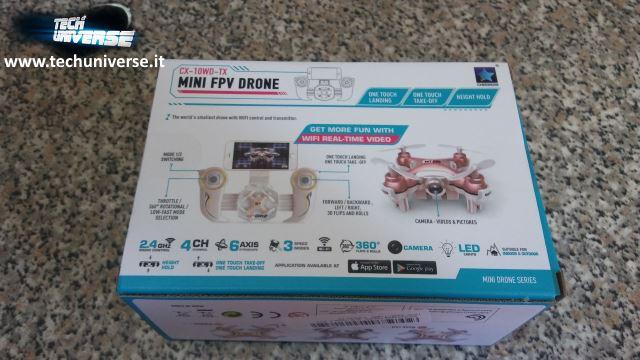 Retro scatola nano drone