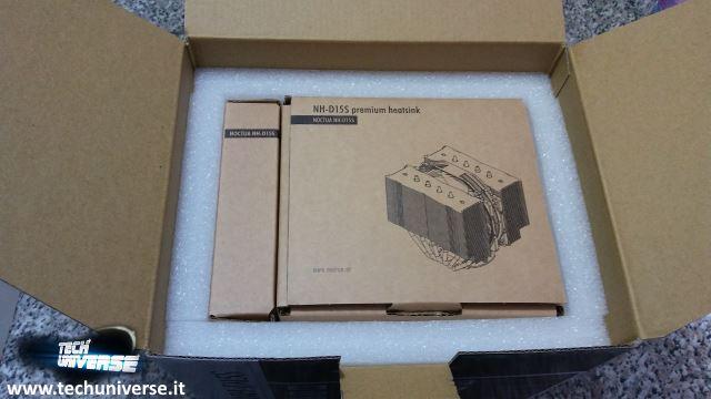 Scatola dissipatore e scatola kit di montaggio